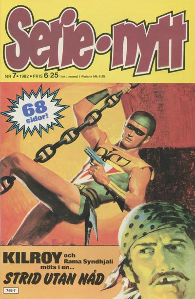 Cover for Serie-nytt [delas?] (Semic, 1970 series) #7/1982