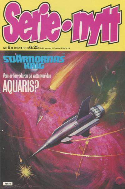 Cover for Serie-nytt [delas?] (Semic, 1970 series) #8/1982