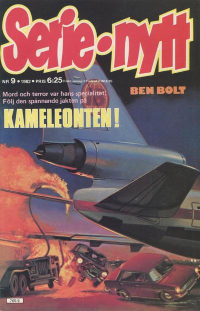Cover for Serie-nytt [delas?] (Semic, 1970 series) #9/1982