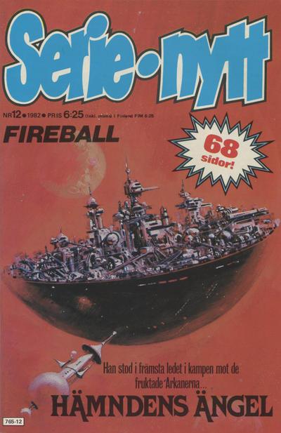 Cover for Serie-nytt [delas?] (Semic, 1970 series) #12/1982