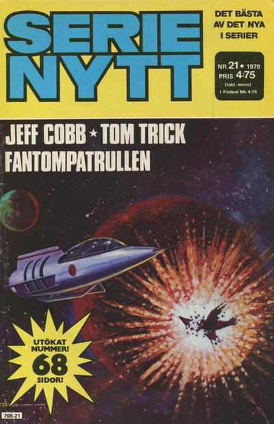 Cover for Serie-nytt [delas?] (Semic, 1970 series) #21/1978