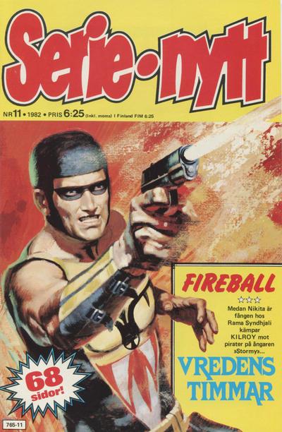 Cover for Serie-nytt [delas?] (Semic, 1970 series) #11/1982