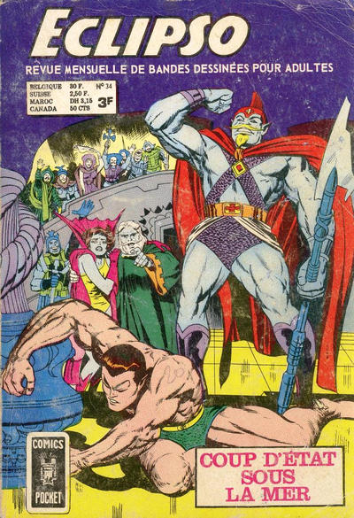 Cover for Eclipso (Arédit-Artima, 1968 series) #34