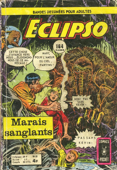 Cover for Eclipso (Arédit-Artima, 1968 series) #51