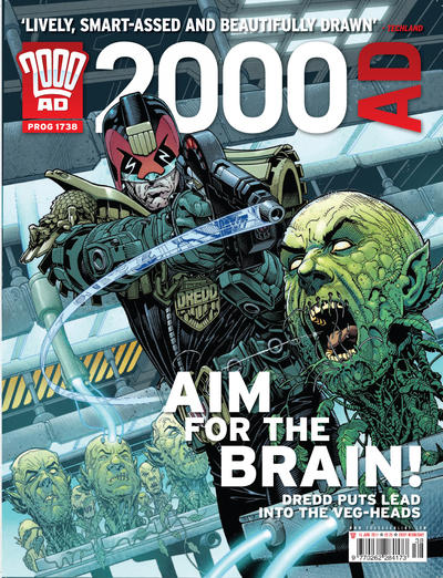 Cover for 2000 AD (Rebellion, 2001 series) #1738