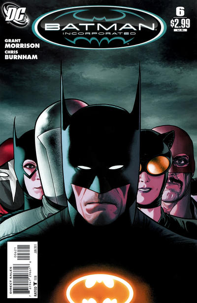 Cover for Batman, Inc. (DC, 2011 series) #6