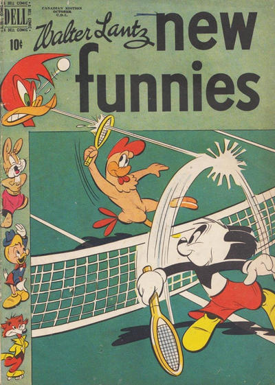 Cover for Walter Lantz New Funnies (Wilson Publishing, 1948 series) #165 [163]