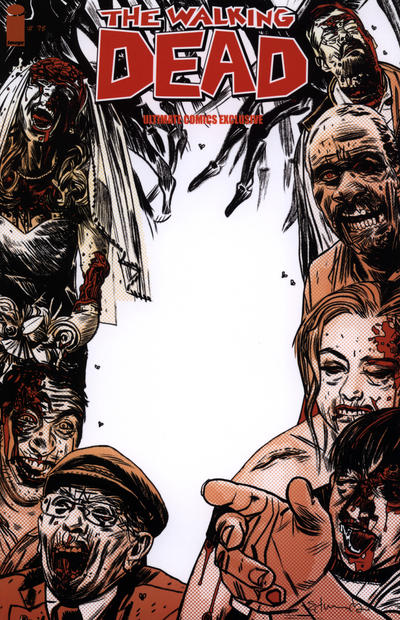 Cover for The Walking Dead (Image, 2003 series) #75 [Ultimate Comics Exclusive Variant]