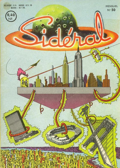 Cover for Sidéral (Arédit-Artima, 1958 series) #50