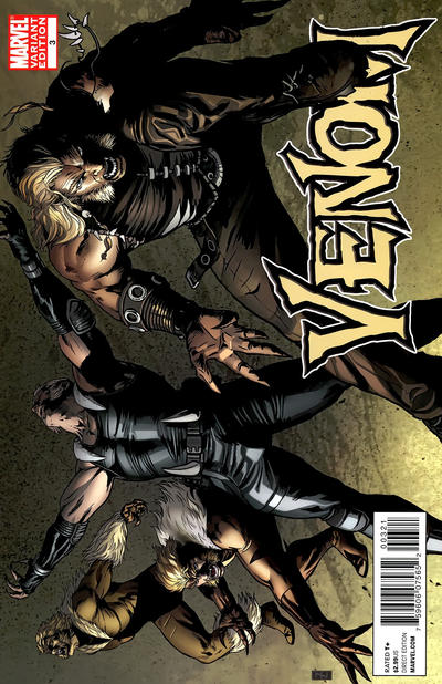 Cover for Venom (Marvel, 2011 series) #3