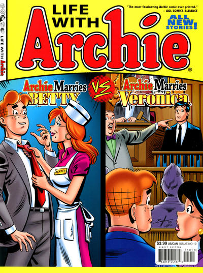 Cover for Life with Archie (Archie, 2010 series) #10