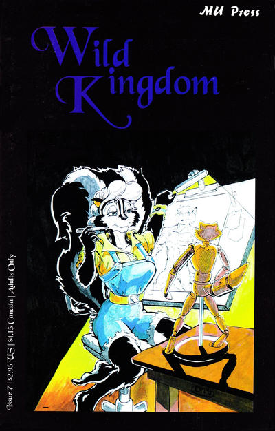 Cover for Wild Kingdom (MU Press, 1993 series) #7