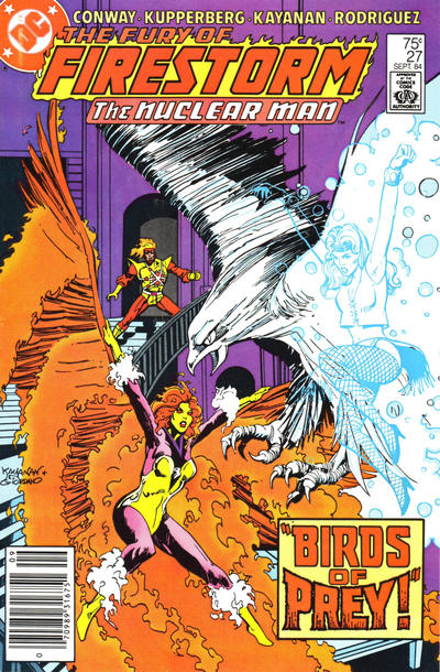 Cover for The Fury of Firestorm (DC, 1982 series) #27 [Newsstand]