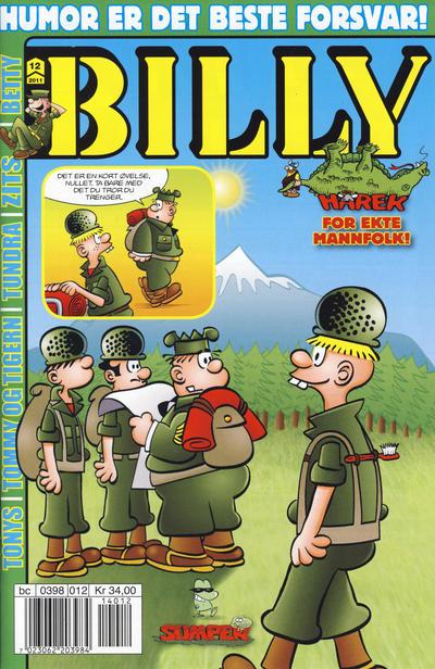 Cover for Billy (Hjemmet / Egmont, 1998 series) #12/2011