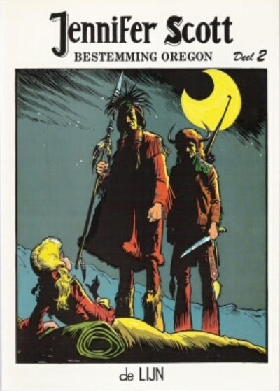 Cover for Jennifer Scott (De Lijn, 1982 series) #2 - Bestemming Oregon