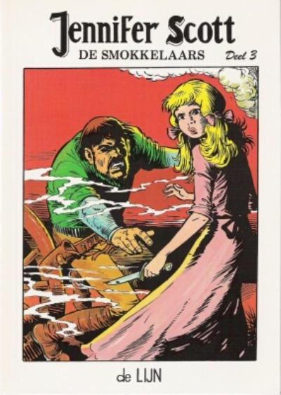 Cover for Jennifer Scott (De Lijn, 1982 series) #3 - De smokkelaars