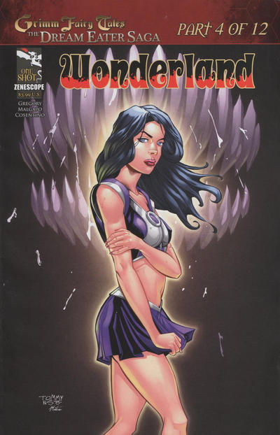 Cover for Grimm Fairy Tales: Dream Eater Saga (Zenescope Entertainment, 2011 series) #4 [Philadelphia Comic-con variant]
