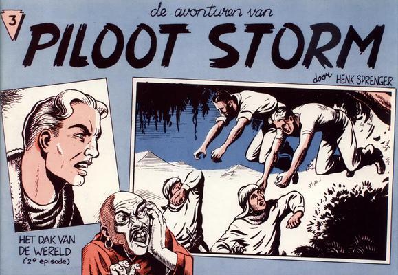 Cover for Piloot Storm (De Lijn, 1981 series) #3
