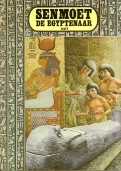 Cover for Senmoet de Egyptenaar (De Lijn, 1982 series) #3