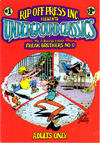 Cover for Underground Classics (Rip Off Press, 1985 series) #1 [1.50 cover price (1985)]