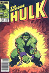Cover for The Incredible Hulk (Marvel, 1968 series) #307 [Newsstand]