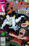 Cover for Silver Surfer (Marvel, 1987 series) #43 [Direct Edition]