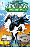 Cover for Captain Nauticus and the Ocean Force (Entity-Parody, 1994 series) #1 [No Corner Box Edition]