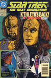 Cover for Star Trek: The Next Generation (DC, 1989 series) #28 [Newsstand]