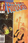 Cover for The New Mutants (Marvel, 1983 series) #23 [newsstand]