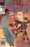 Cover Thumbnail for The New Mutants (1983 series) #27 [newsstand]