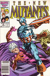 Cover Thumbnail for The New Mutants (1983 series) #40 [newsstand]