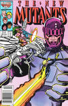 Cover Thumbnail for The New Mutants (1983 series) #48 [Newsstand Edition]
