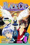 Cover for Black Cat (Viz, 2006 series) #4