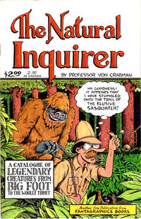 Cover Thumbnail for The Natural Inquirer (Fantagraphics, 1989 series) #1