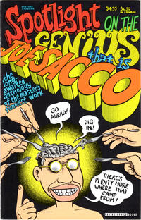 Cover Thumbnail for Spotlight on the Genius That Is Joe Sacco (Fantagraphics, 1994 series)