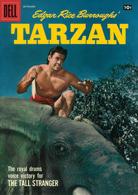 Cover Thumbnail for Edgar Rice Burroughs' Tarzan (Dell, 1948 series) #96