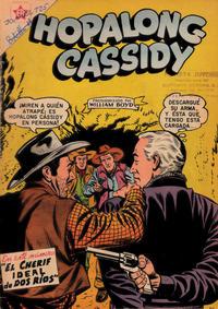 Cover Thumbnail for Hopalong Cassidy (Editorial Novaro, 1952 series) #39