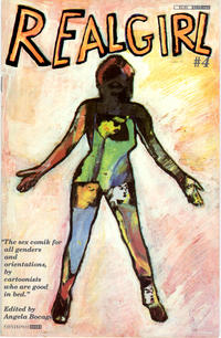 Cover Thumbnail for Real Girl (Fantagraphics, 1990 series) #4