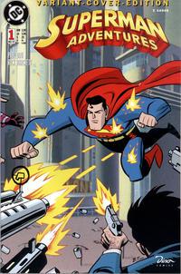 Cover Thumbnail for Batman Adventures & Superman Adventures (Dino Verlag, 1997 series) #1 [Variant-Cover-Edition]