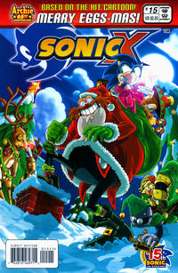 Cover Thumbnail for Sonic X (Archie, 2005 series) #15
