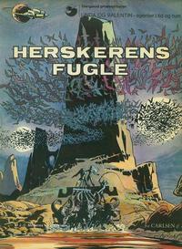Cover Thumbnail for Linda og Valentin (Carlsen, 1975 series) #3 - Herskerens fugle [1. oplag]