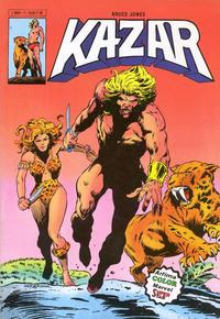 Cover Thumbnail for Ka-Zar (Arédit-Artima, 1982 series) #1