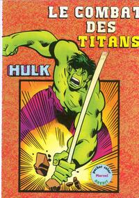 Cover Thumbnail for Hulk (Arédit-Artima, 1982 series) #1