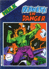 Cover Thumbnail for Hulk (Arédit-Artima, 1982 series) #5