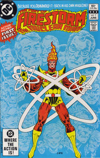 Cover Thumbnail for The Fury of Firestorm (DC, 1982 series) #1 [Direct edition]