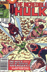 Cover Thumbnail for The Incredible Hulk (Marvel, 1968 series) #316 [Newsstand]