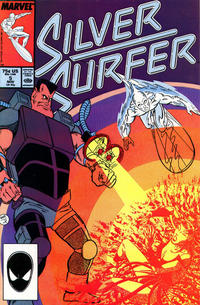 Cover Thumbnail for Silver Surfer (Marvel, 1987 series) #5 [Direct Edition]