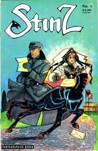 Cover Thumbnail for Stinz (Fantagraphics, 1989 series) #4