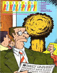 Cover Thumbnail for Centrifugal Bumble-Puppy (Fantagraphics, 1987 series) #3