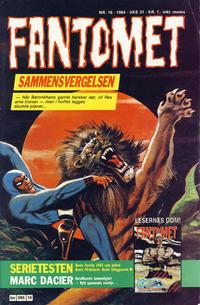 Cover Thumbnail for Fantomet (Semic, 1976 series) #16/1984